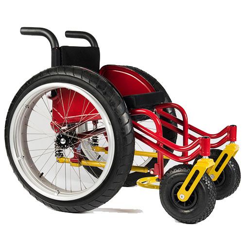 BOX Wheelchairs Beach Bomber