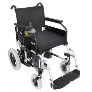 Glide Series 4 wheelchair in silver