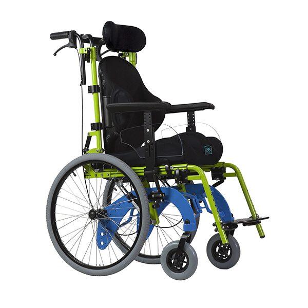 Neatech LB folding tilt-in-space wheelchair