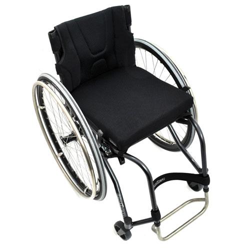 Panthera U3 lightweight manual wheelchair top view