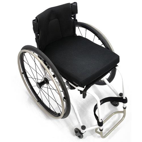 Panthera U3 Light ultralight manual wheelchair - top view