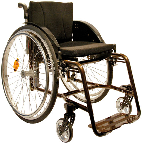 SORG Vector wheelchair in bronze colour