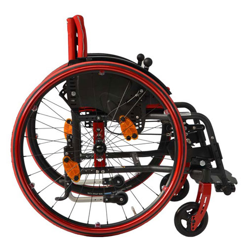 SORG Vector Wheelchair side view