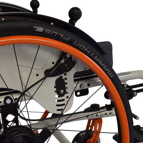 SORG Vector wheelchair with Bowden brakes