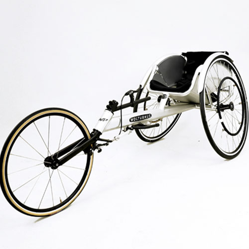 Wolturnus Amasis track / racing chair in white