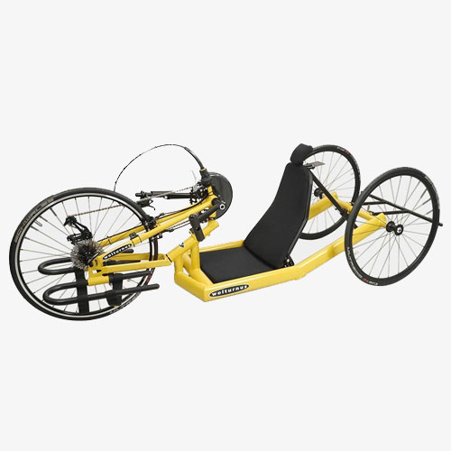 Wolturnus Antaras handbike in yellow
