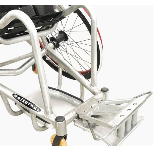 Wolturnus rugby defense wheelchair bumper