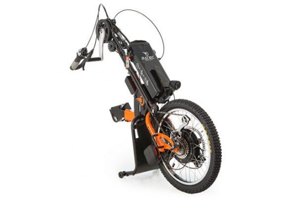 Batec Hybrid handbike in orange