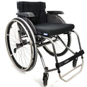 Panthera S3 lightweight manual wheelchair - front view