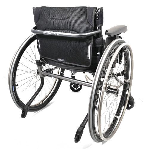 Panthera S3 lightweight manual wheelchair - rear view