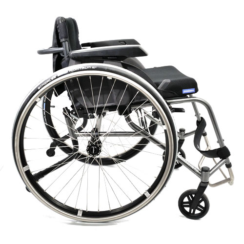 Panthera S3 lightweight manual wheelchair - side view