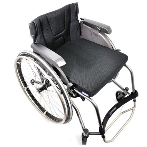 Panthera S3 lightweight manual wheelchair - top view