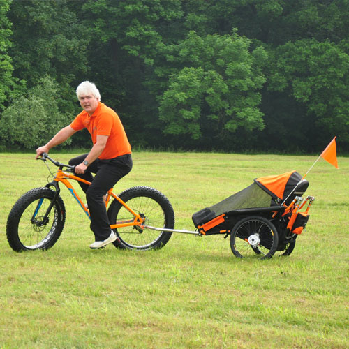 xRover Bicycle attachment