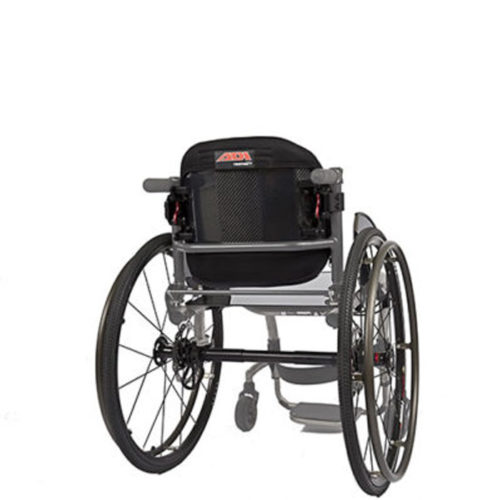 ADI backrest on wheelchair