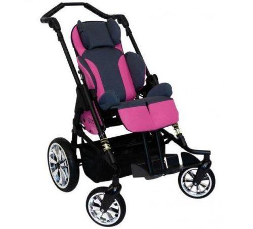 Hoggi Bingo Stroller with Pink upholstery