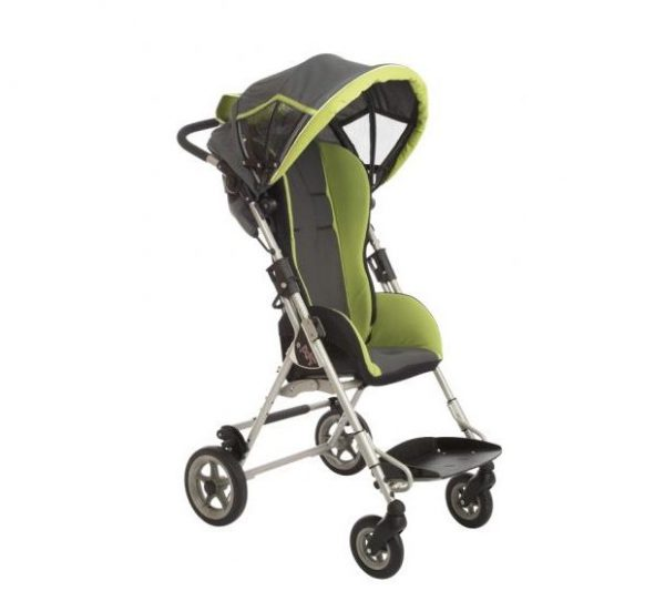 ALvema Pixi stroller with grey / green upholstery