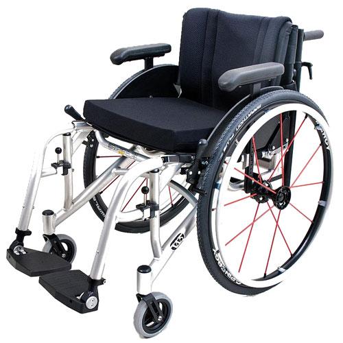 Wolturnus Dalton wheelchair left side view