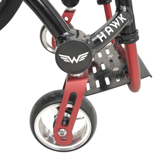 Wolturnus Hawk front caster wheels