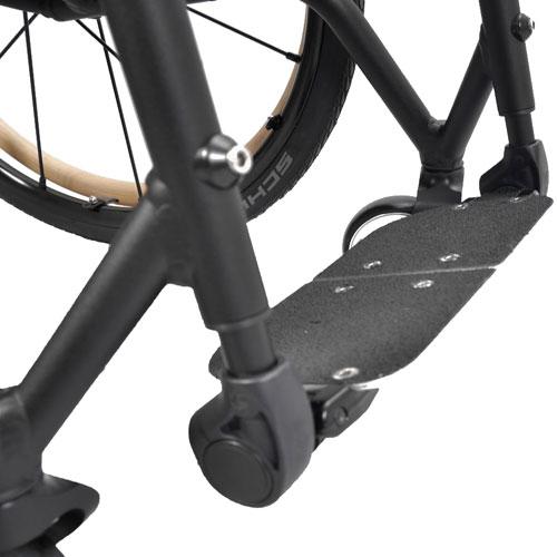 Wolturnus Merlin wheelchair footrest