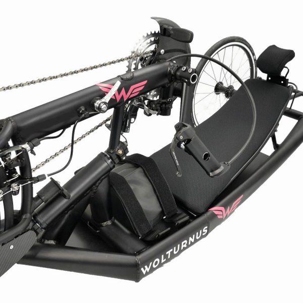 Wolturnus Racebike seat position