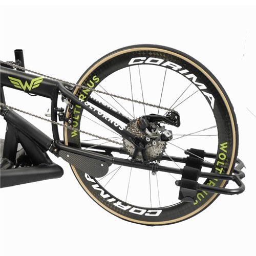 Wolturnus Racebike with Corima wheels