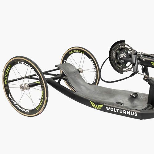 Wolturnus Racebike seating position