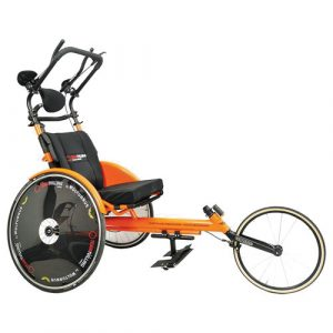 Wolturnus Team Twin running wheelchair in orange
