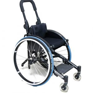 Wolturnus W5 Junior A - adjustable axle children's wheelchair