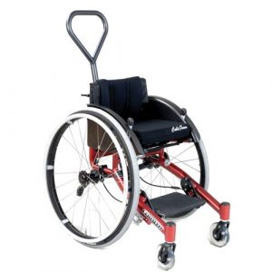 Wolturnus W5 Junior wheelchair in red