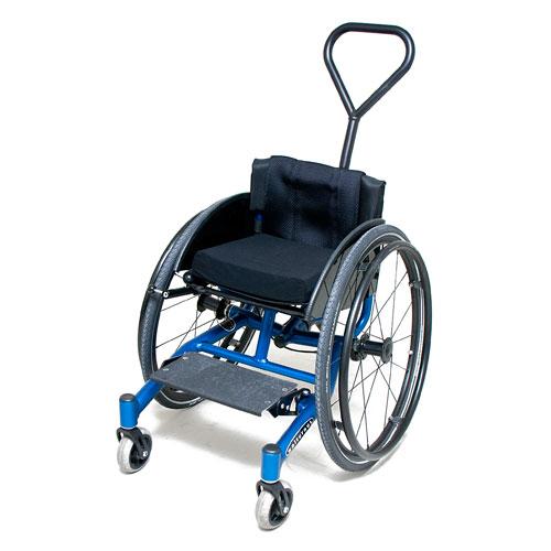 Wolturnus W5 Junior wheelchair in blue