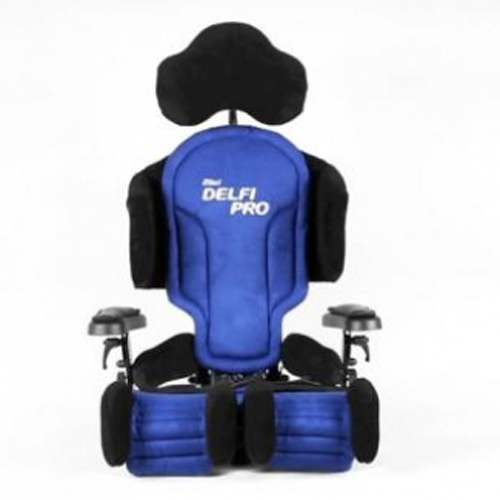 Anatomic SITT Delfi Pro seating system in blue