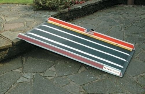 DECPAC ramp with edge barrier limiters