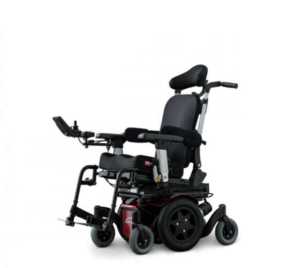 Quickie Q500M Mini powered wheelchair