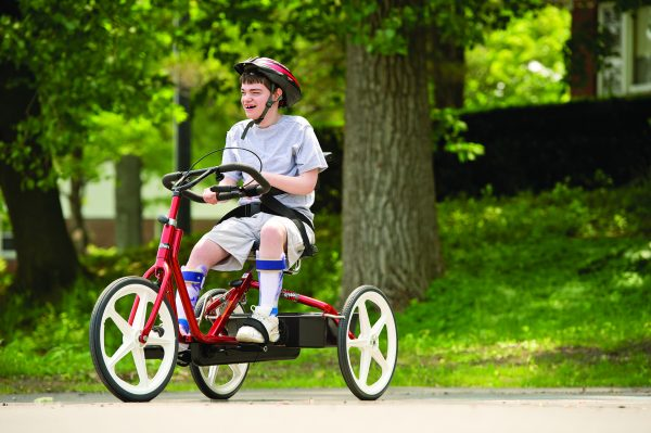 Rifton Tricycle in action